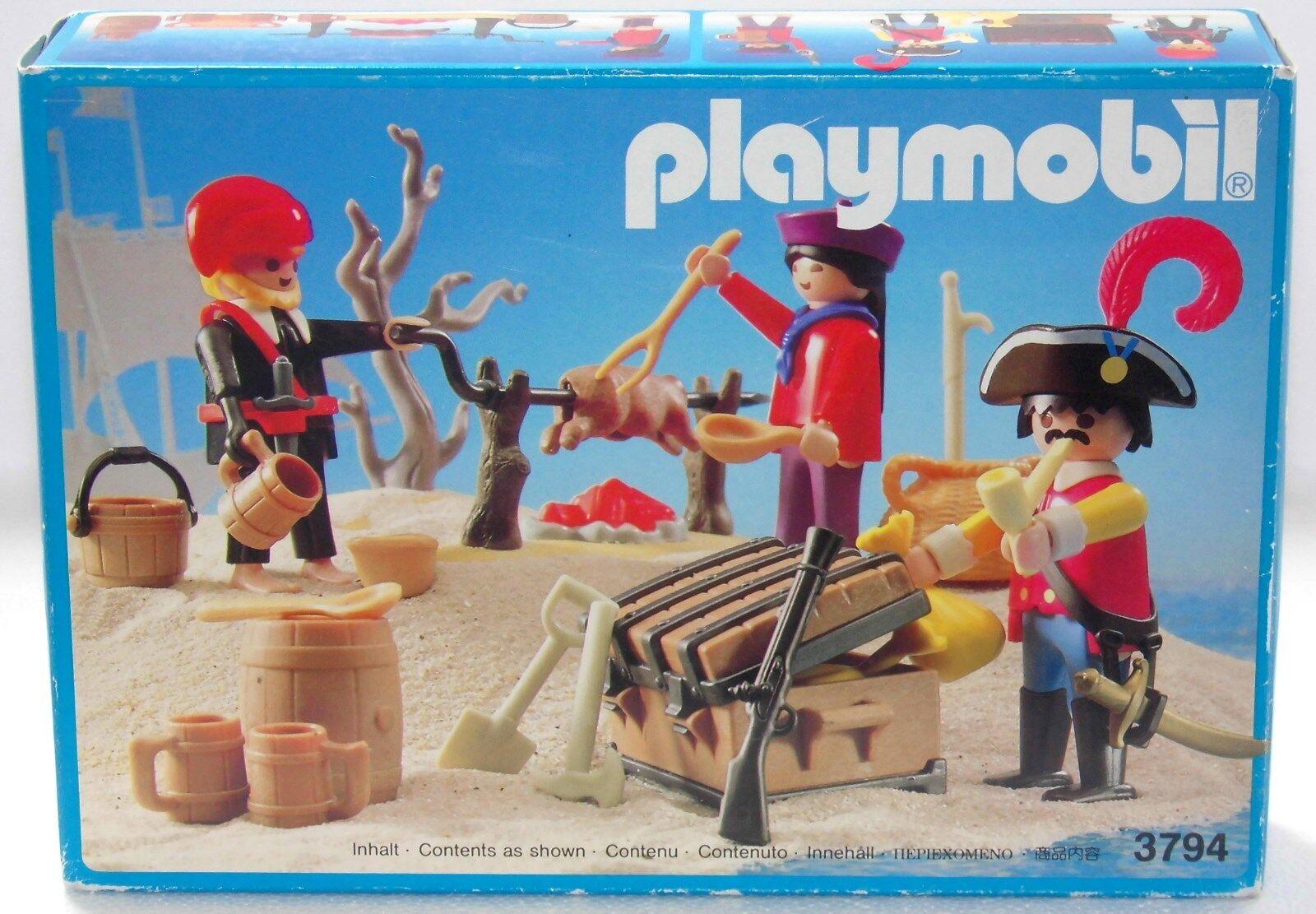 Pirati Squadra Playmobil 3794 V. `90 per Porchetta Cinese  Conf. Orig. Nuovo  nessun minimo