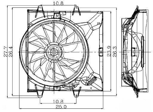 jeep 3 0 engine diagram engine cooling fan assembly global 2811479 fits 1999 jeep grand  engine cooling fan assembly global