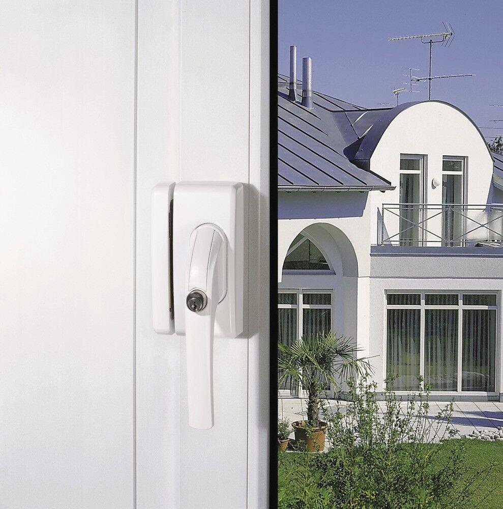 ABUS Secvest FUFT50051W Funk-Fenstergriffsicherung Alarmierung, bevor der Täter