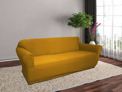Soda Chair Loveseat Recliner Couch Cover Jersey Knitted Stretch Slipcover