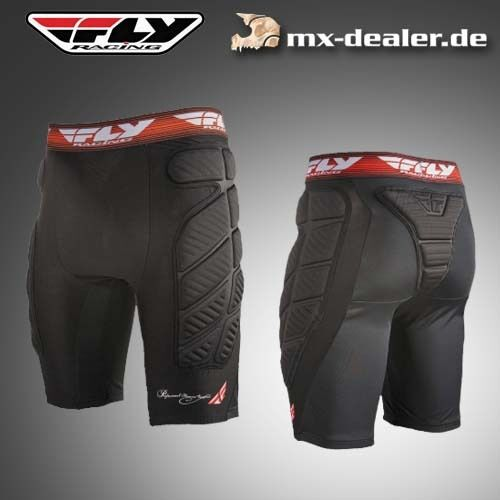 Fly racing short Compression protecteurs pantalon ENDURO MTB MX MOTO CROSS s m l xl