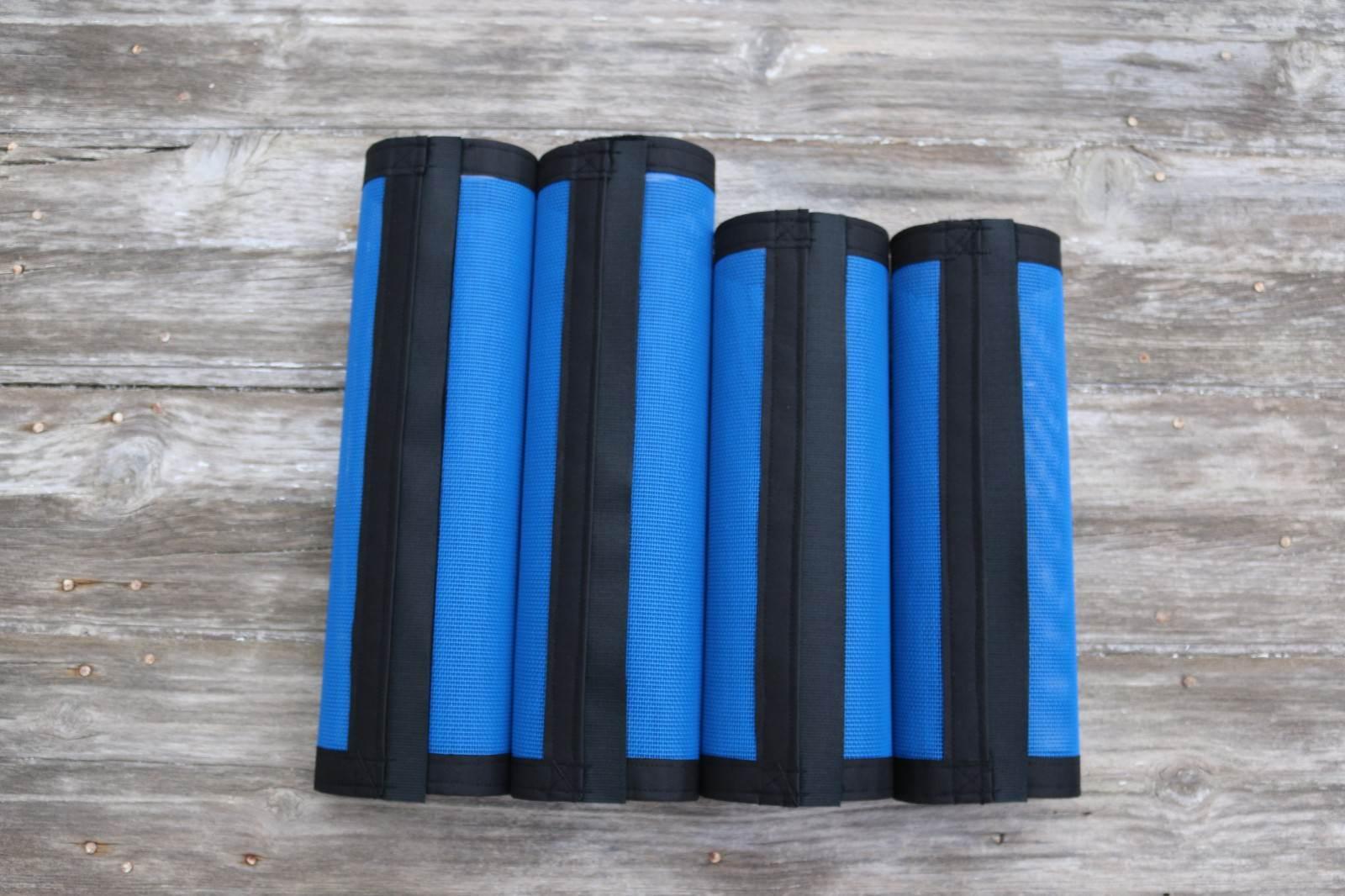Fly Predection  Leg Wraps Leggings For Horses, Straight Fly Boots Set Of 4,bluee