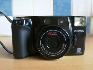 Appareil Photo Argentique Minolta AF ZOOM 90 / 38 - 90 mm Macro Vintage