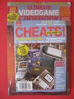 New/sealed Ultimate Video Game Codebook Codes Cheats Psp Ps2 Xbox Gba Gamecube