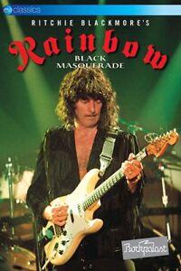 Ritchie-BLACKMORE-039-S-RAINBOW-Nero-Ballo-in-Maschera-DVD-DVD-NUOVO