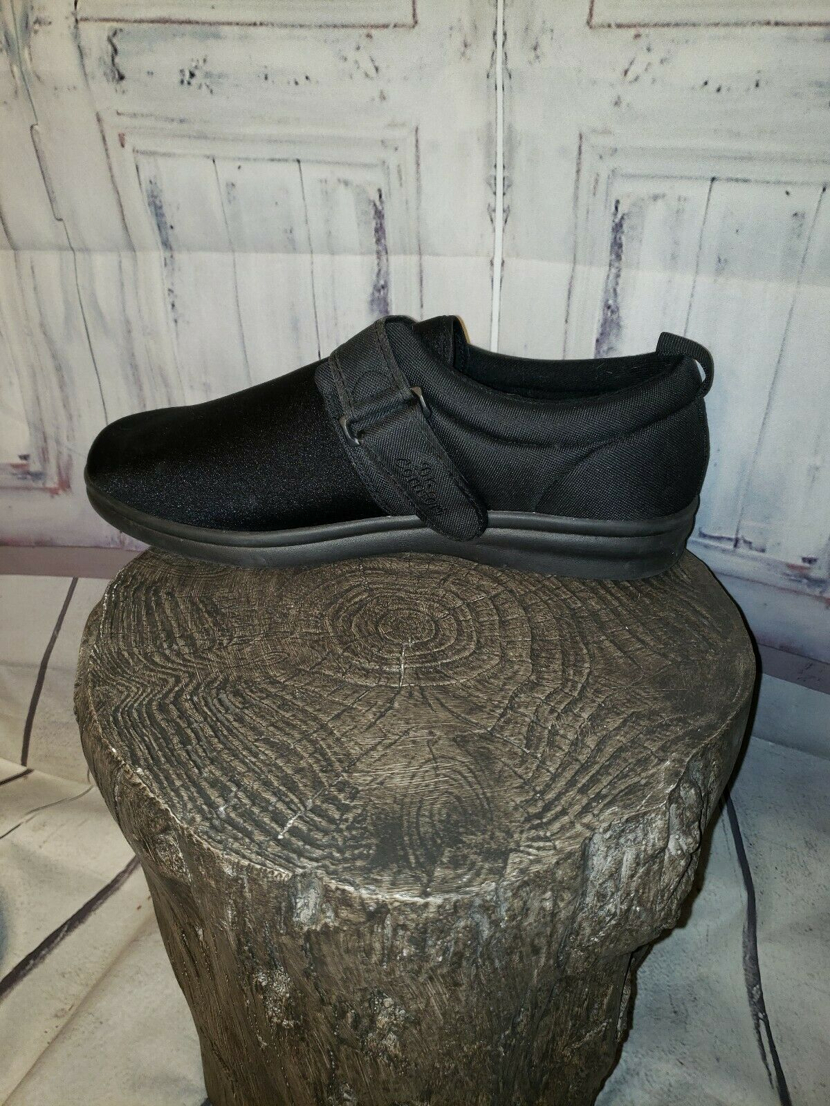 Dr Comfort Men ShoeS Carter 12XW Black Casual Vel… - image 4