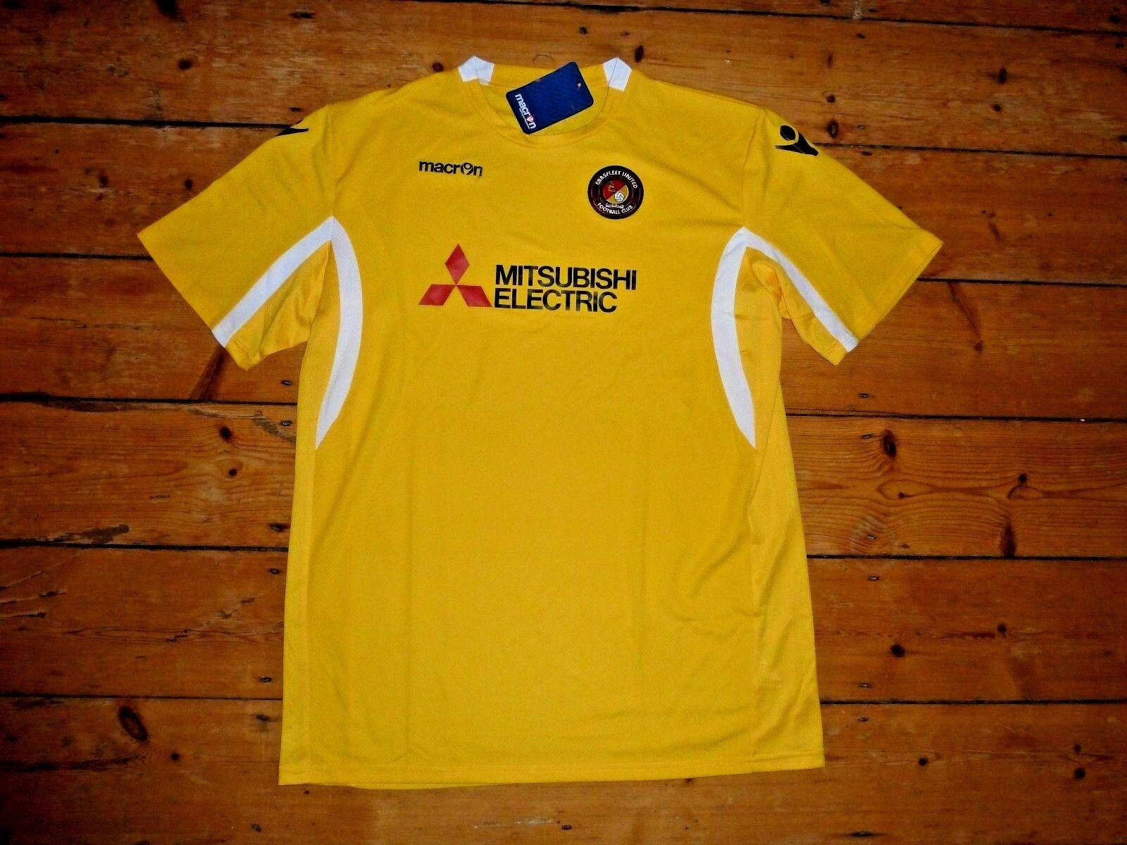 31ec94f97 EBBSFLEET UNITED XXXXL Football Shirt Jersey Soccer Maglia Maillott  Gravesend. Liverpool 2012-13 ...