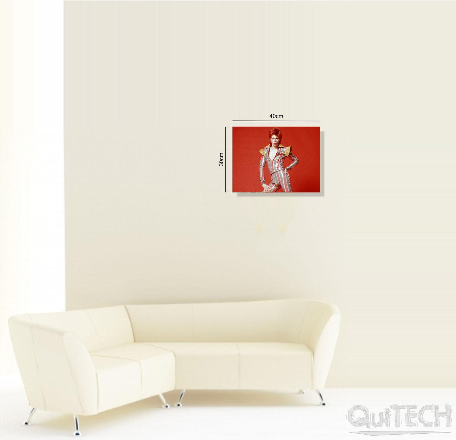 David Bowie - 13 Dipinto - Quadro stampa su Tela Pelle Canvas Dipinto 13 Arte Moderna 034048