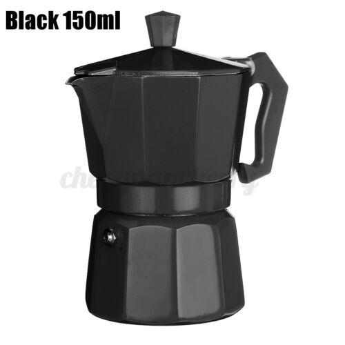 Stovetop Coffee Maker 3 CUP Aluminum Italian Espresso Percolator Moka Po