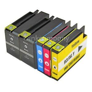 5x-DRUCKER-PATRONEN-fuer-HP-932XL-933XL-OFFICEJET-6100-6600-6700-7110-7510A-7610