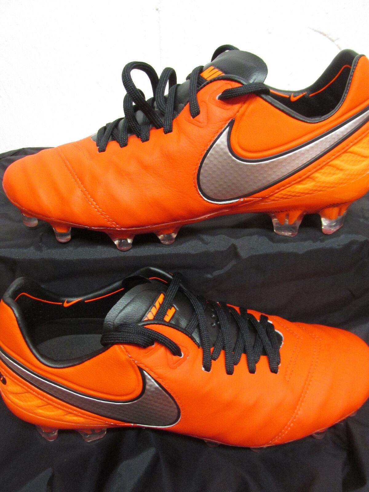 Zapatos Nike PROFESSIONALI Tiempo Legend VI FG 819177-608 CALCIO PROFESSIONALI Nike  ARANCIONE 3a0a96