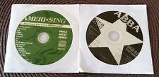 2 CDG 1970'S KARAOKE SET CLASSIC ROCK/OLDIES ABBA & JOURNEY ANTHOLOGY MUSIC CD+G