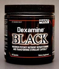 Giant Sports DEXAMINE BLACK Weight Loss Fat Burner FEEL GOOD Diet Pill - 60 caps