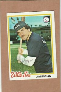 1978 Topps #  98 Jim Essian  - autographed card