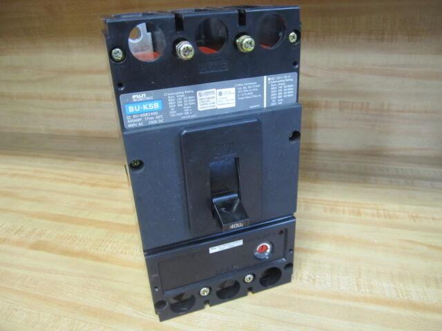 Fuji BU-KSB2400 400A Circuit Breaker BUKSB2400