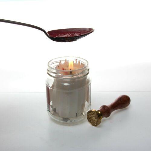 New Authentic Vintage d/'étanchéité joint de cire à cacheter comme pierres de poids 80,200,420,870g.