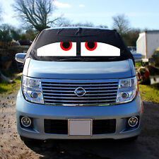Nissan Elgrand E51 Window Screen Cover Black Out Blind Curtain Wrap Frost Eyes