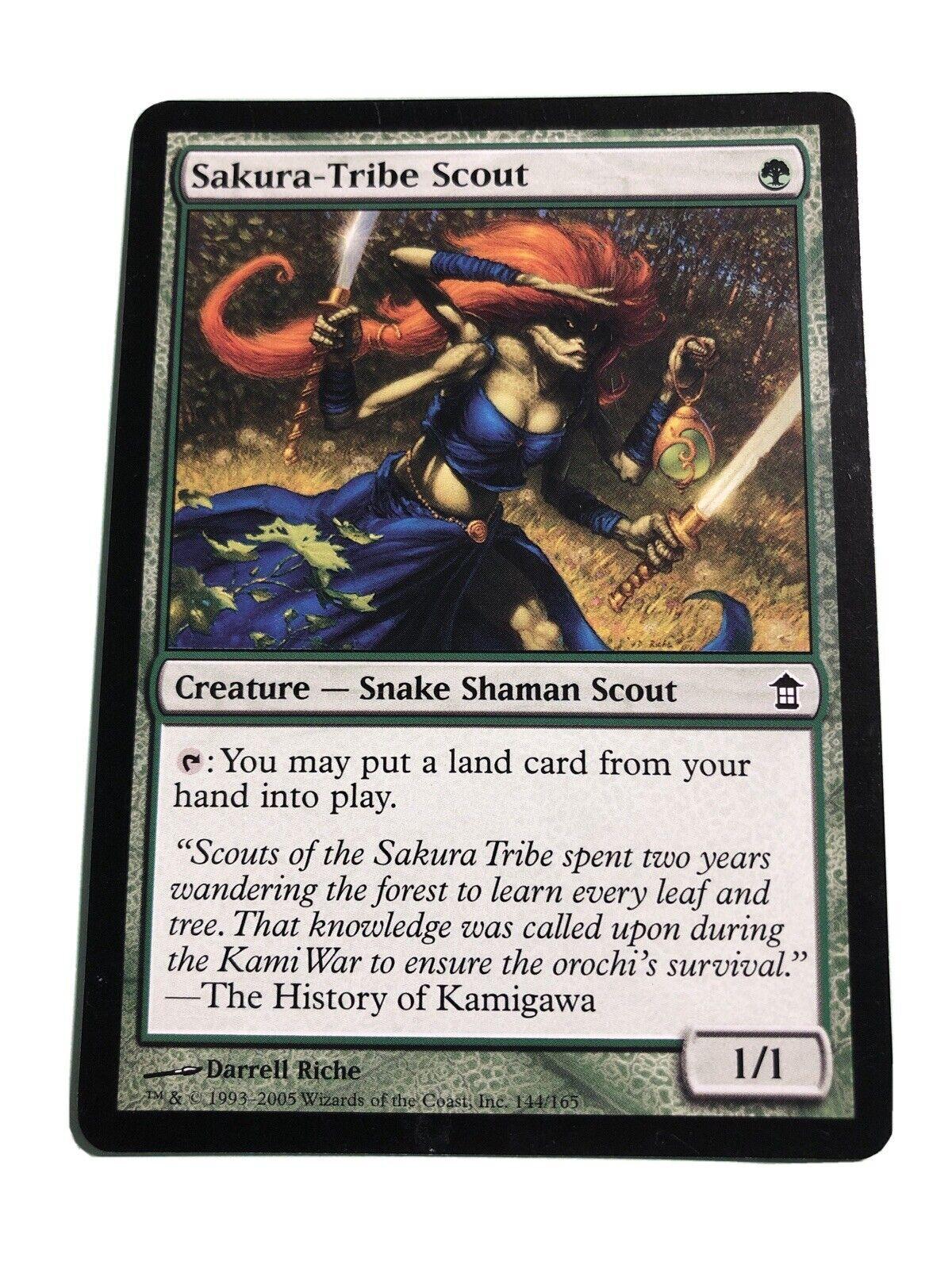1X Sakura-Tribe Scout MTG CARD SOK