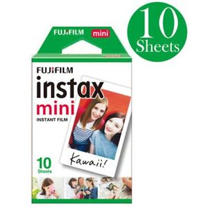 10sheets Instax mini White Instant Film For Mini 7s 8 9 25 50 90 Camera