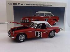 1:18 AUTOart Millennium 1964 MGB GT MKII Rally Monte Carlo Winner #83 86481