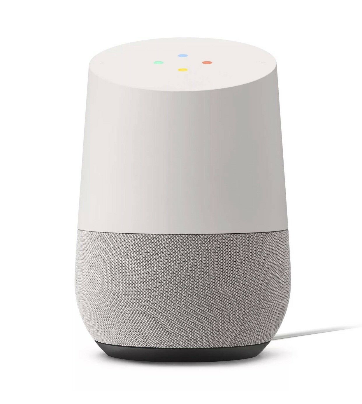 New Google Home Smart Assistant Speaker - White