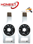 For VW PASSAT 2005/> FRONT LOWER WISHBONE CONTROL ARM BUSHES L/&R X2 Karlmann