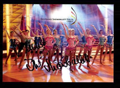 Musik Sammeln & Seltenes Verantwortlich Showballett Autogrammkarte Original Signiert ## Bc 122860