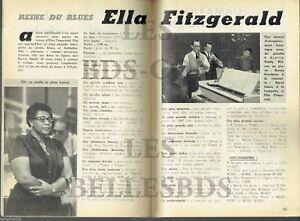 Avoir Un Esprit De Recherche Doc/clipping (ref Pot 222) Jazz : Ella Fitzgerald 2pages