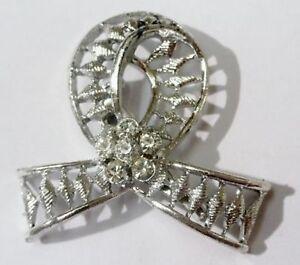 broche-bijou-vintage-couleur-argent-deco-noeud-de-cristaux-diamant-2178