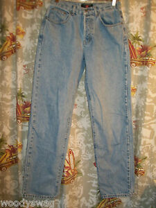 American-Eagle-Outfitters-Jeans-Cotton-Size-4-Button-Fly-Inseam-30-Classic