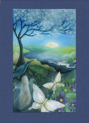 BELTANE MAYDAY GREETING CARD 1st May WICCAN Celtic PAGAN SOLSTICE AMANDA CLARK