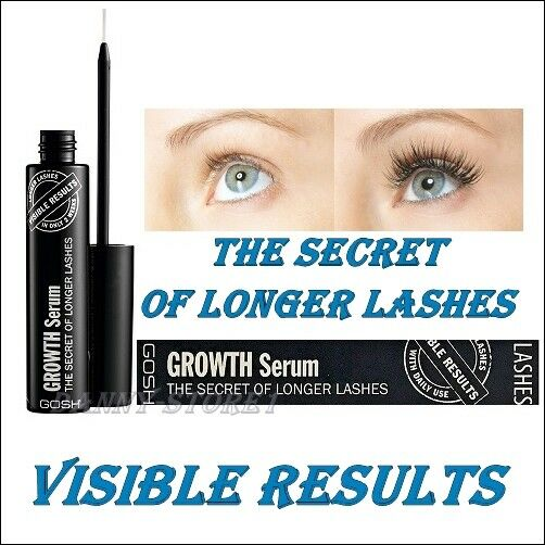 dfcf0104af6 GOSH The Secret of Longer Lashes Eyelash Growth Serum 6ml Authentic for  sale online | eBay