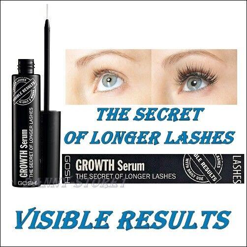 931358f90f0 GOSH The Secret of Longer Lashes Eyelash Growth Serum 6ml Authentic for sale  online | eBay