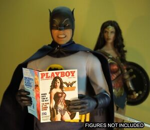 Catwoman 1//6 Scale Custom Playboy full interior Batman Bruce Wayne