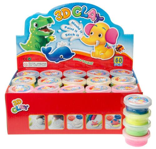 Spielzeug Hüpfknete Springknete Flummimasse in Dose 10 Farben Tombola Mitgebsel Knete