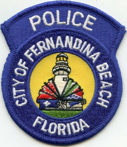 FERNANDINA BEACH FLORIDA FL Lighthouse POLICE PATCH