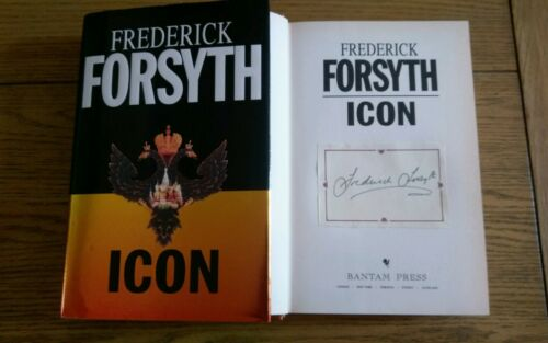 1 of 1 - Icon SIGNED Frederick Forsyth Hardback Book 1996 1st edition 1st impression