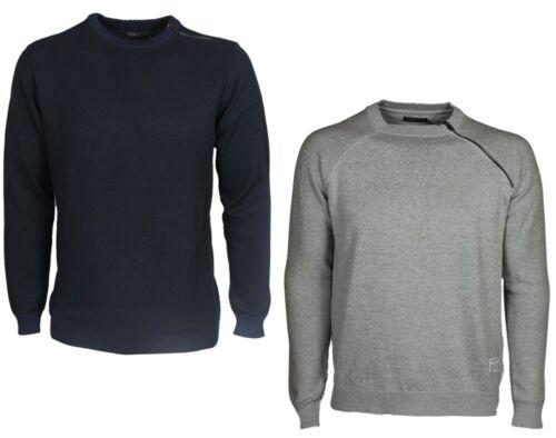 Mens Jack /& Jones Sweatshirt Crew Neck Long Sleeve Navy Grey Designer All Sizes