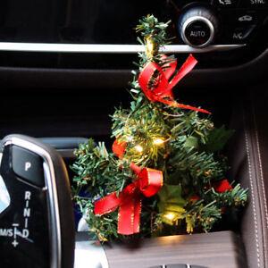 Auto Weihnachtsbaum.Details Zu Auto Weihnachtsbaum Christbaum Leuchtbaum Mit Led Lichterkette Kfz Lkw Pc Laptop