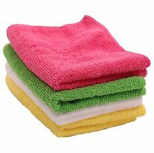 SOFTSPUN Microfiber Ultrasoft Baby Wipes - Set of 4 TOWELS - MULTI COLOR 2300MC4