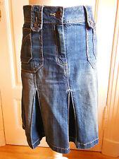 Jeans Rock 36 - 38 Cecil 26 Damenrock Blau Sommerrock Faltenrock sehr schön