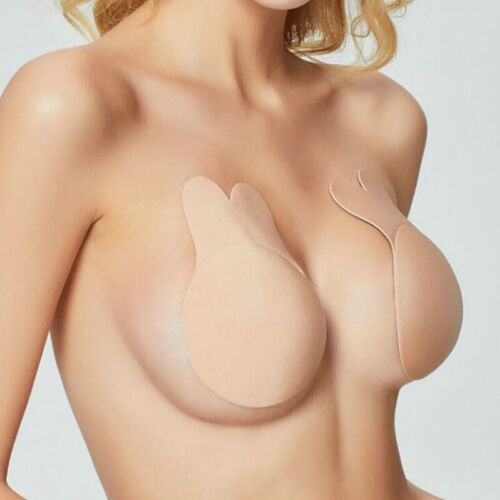 1 Pair Invisible Breast Boob 2 Wings Lift Up Lift Tape Nipple Cover Silicone Bra