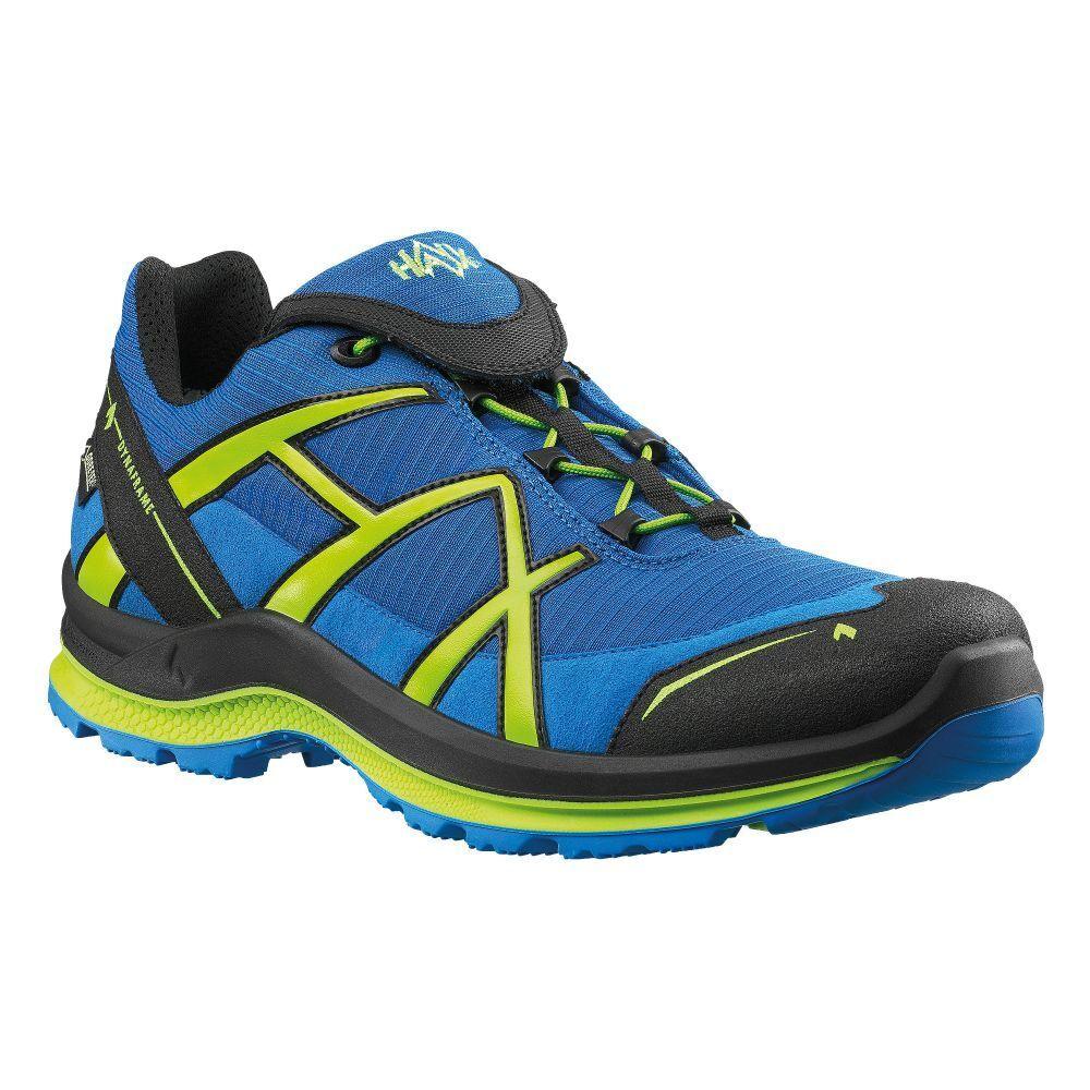Haix Schuh schwarz Eagle Adventure 2.0 blau grün