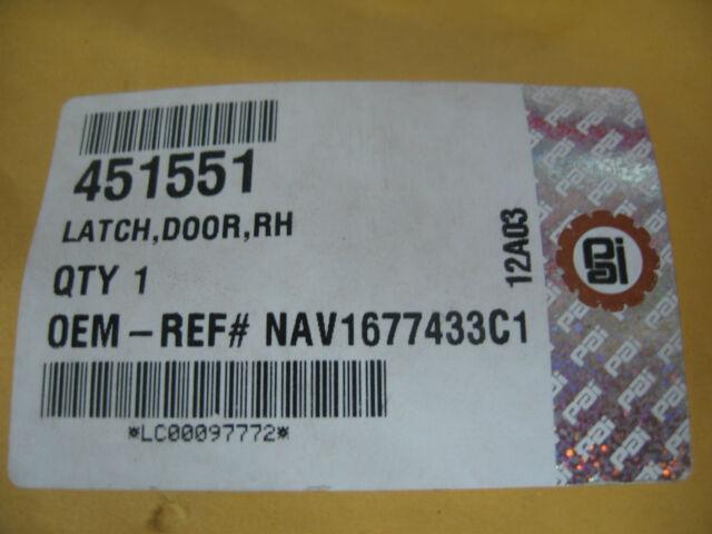 PAI # 451551 Navistar Ref # 1677433C1 Right Hand Door Latch for International