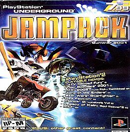 PlayStation Underground Jampack: Summer 2001 (Sony PlayStation 2, 2001)