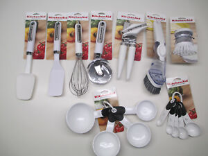 Kitchenaid White Kitchen Utensils Ebay