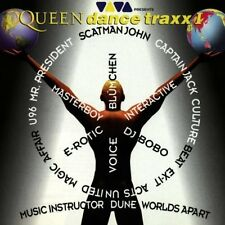 Queen Dance traxx I (1996, v.a.: Captain Jack, DJ Bobo, U96, Dune..) [CD]