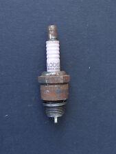 Ancienne bougie rose LODGE old pink spark plug Candela Tennpluggen
