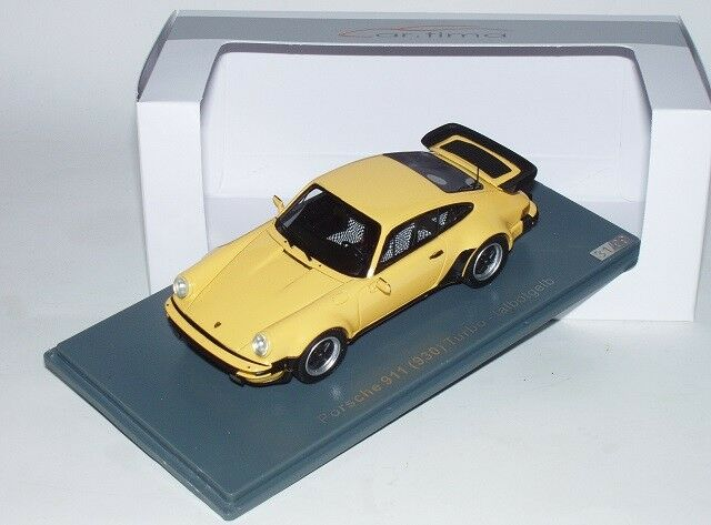 Neo SCALE 91105 Porsche 911 (930) Turbo Talbot Yellow 1 43  Special Edition  New