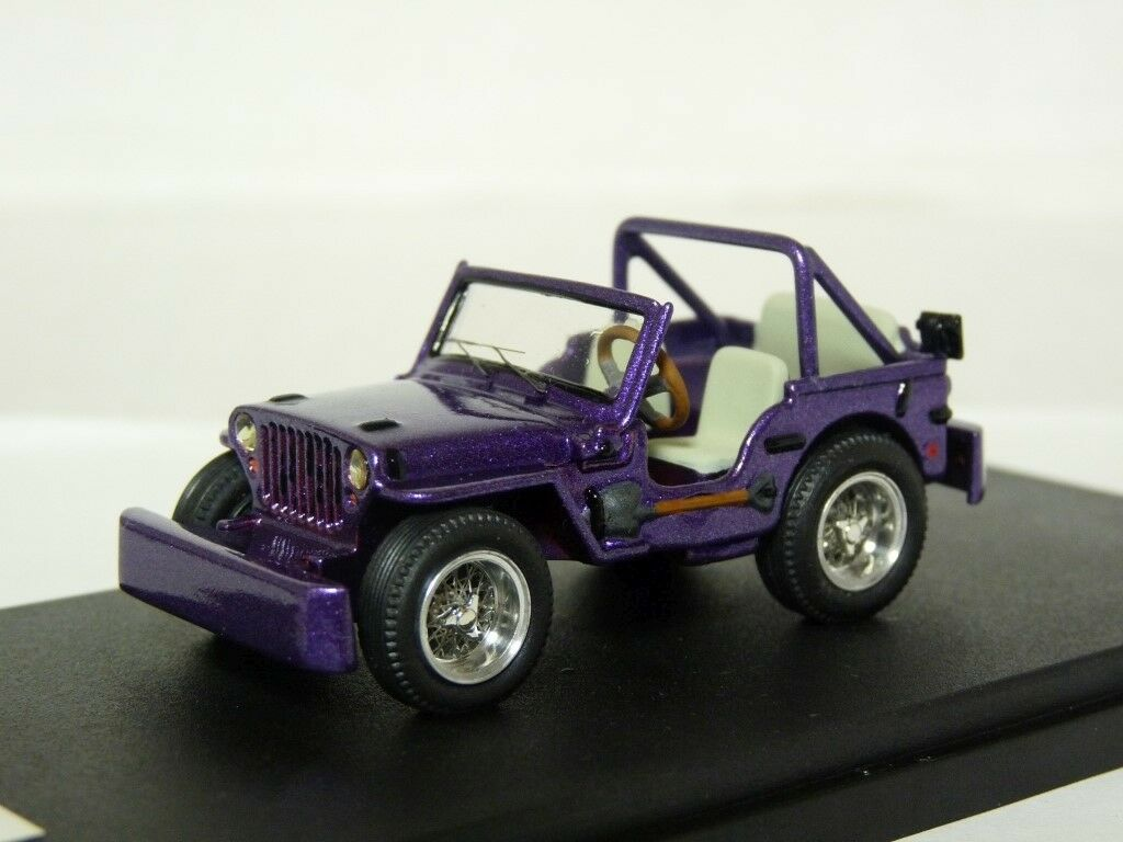 PitStop 1 43 1998 Jeep skaife Overland 4x4 Resin Handmade Voiture Modèle